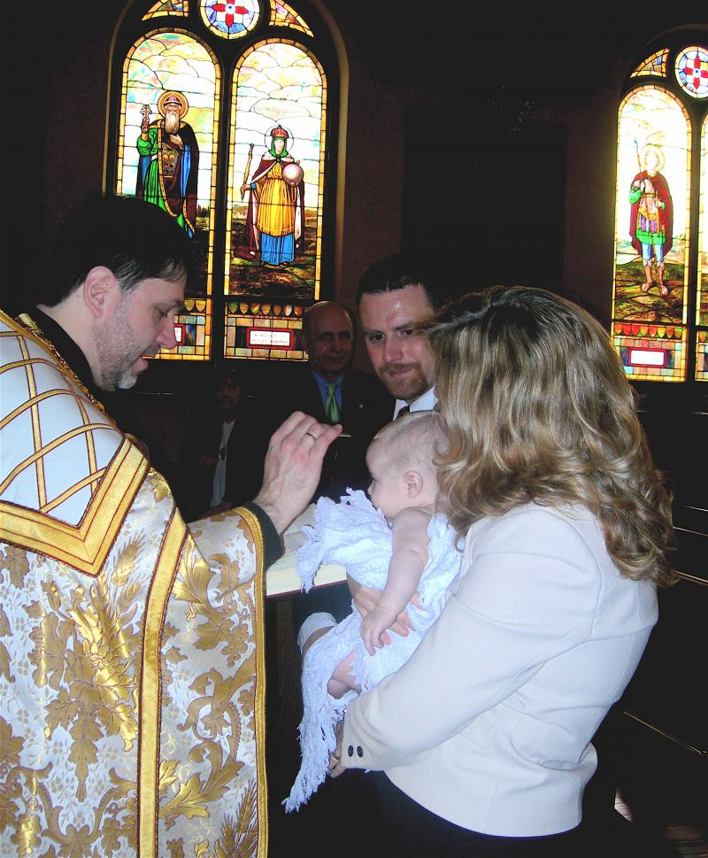 Serbian History 101 - Orthodox Baptism